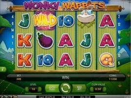 Wonky Wabbits på LeoJackpot